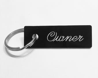 Owner Keychain, Owned Keychain, DDLG Keychain, BDSM Keychain, Dominant Keychain, Submissive Keychain