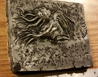 the Call of Cthulhu Bas-Relief