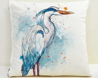 Heron Cushion Cover