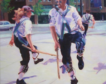 Hook-Leg: Morris Dance - original art