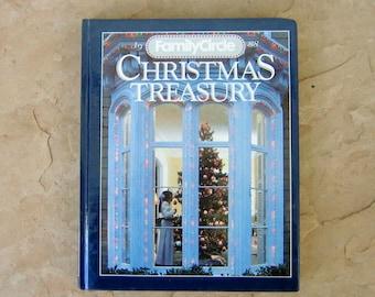 1988 Family Circle Christmas Treasury, 1988 Christmas Vintage Book