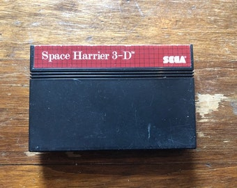 Space Harrier 3D Sega Master System Cartridge