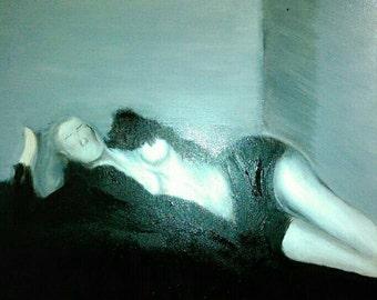 Iggy Azaelia reclining