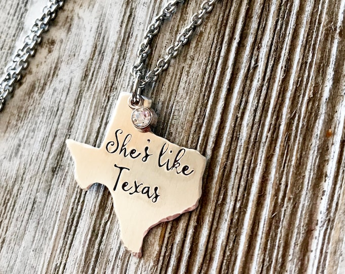 She's Like Texas Necklace