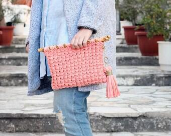 Clutch bag / Summer clutch / Summer clutch bag / Bag / Knit clutch / Clutch purse