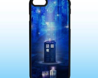 Doctor Who Tardis Custom Iphone Case, Iphone 5, 6, 7, 8, X