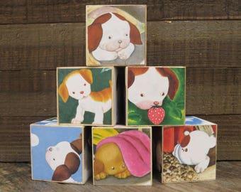 Storybook Blocks / The Poky Little Puppy / Baby Blocks / Storybook Baby Shower / A Little Golden Book / Decorative Blocks