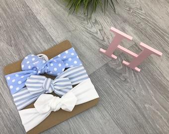 Baby Headband / Newborn Headband / Baby Headbands / Toddler Headband / Infant Headband / Baby Headwrap / Baby Bows / Polka Set