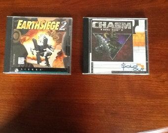 Chasm and Earthsiege 2