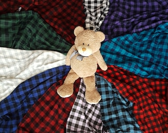 Flannel Receiving Blanket (Personalized Available)