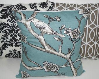 THREE New 18x18 inch Designer Handmade Pillow Cases. Dwell Studio.