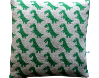 40cm Lambswool Dinosaur T Rex cushion