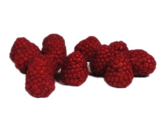 RASPBERRIES-N-CREAM Wax Melts, Wax Tarts, Scented Embeds, Shaped Wax Melts - Highly Scented