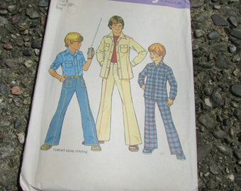 Boy's Shirt and Pants Simplicity pattern