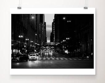 Chicago photograph travel photography black and white photograph architecture photograph Chicago print street photography urban photograph
