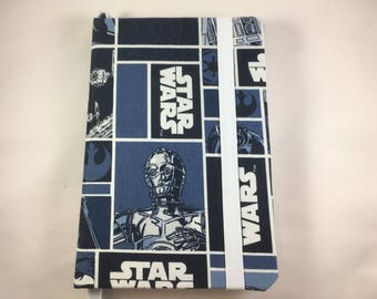 Unofficial Star Wars Hand-crafted lined Bullet Journal