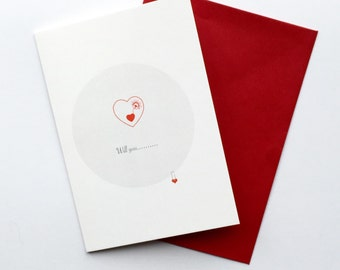 Will you.... valentines card