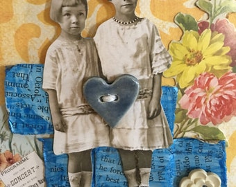Mixed media, one of a kind, children