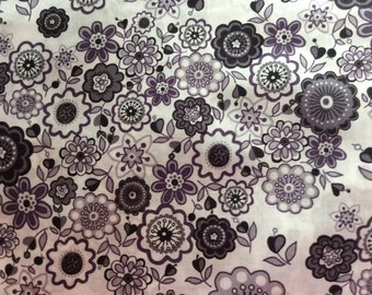Tana lawn fabric from Liberty of London, Lauren