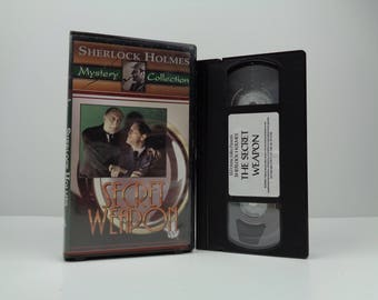 Sherlock Holmes And The Secret Weapon [VHS] (1943)