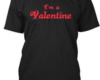 I'M A Valentine Limitededition - Hanes Tagless Tee - Black