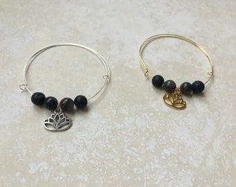 Essential Oil Lava Diffuser Bracelet