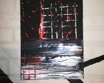 LIMBO CAGE painting by Dystopians