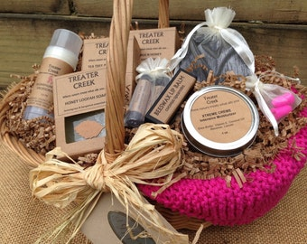 Chemo Gift Basket - Pink -Cancer Patient Support- Breast Cancer