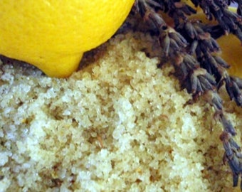 Lavender & Lemon Face Scrub