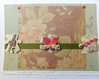 All Occasion or Friendship Handmade Card