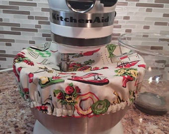 Kitchenaid Bowl Cover/ 1950's kitchen