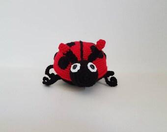 Ladybird Toy, Crochet Lady bug, Soft Ladybug Toy, Handmade Crochet Ladybird, Amigurumi Ladybug, Baby Shower Gift- MADE TO ORDER