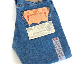 Vintage Levi's original 501 W 27 L 34  , 90s Made in USA