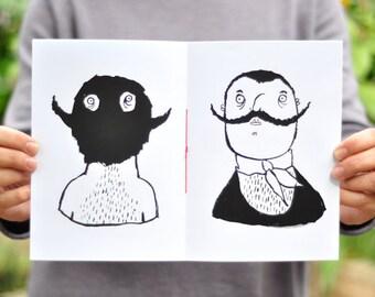 Pretty Moustache - Zine