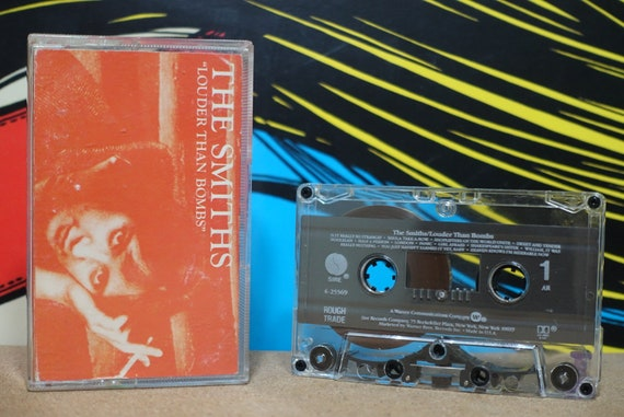 Louder Than Bombs by The Smiths Vintage Cassette Tape