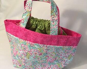 Drawstring Lunch Bag/Tote