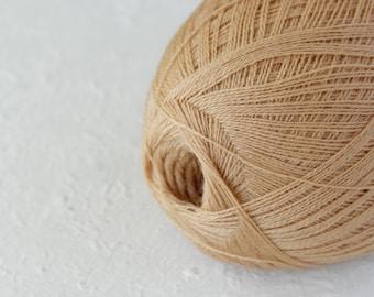 Merino wool yarn in cobweb weight - thin yarn for traditional Haapsalu shawls knitting
