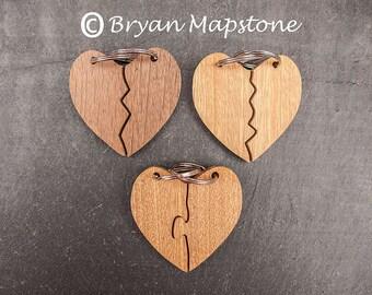 Friendship key rings (Heart)