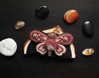 Moth/ Butterfly Brooch 06