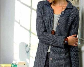 Coat/cardigan, Highland wool/Alpaca