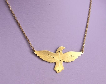 Aquila constellation necklace