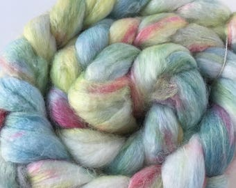 Merino and Bamboo Combed Top Roving for Spinning