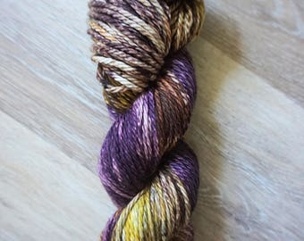 Royalty/ Hand Dyed Yarn/ Plush- Bulky/ 100% Superwash Merino Wool