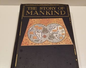 The Story of Mankind by Hendrik Van Loon, 1921, 1st Edition, Seventh Printing, Very Good Condition