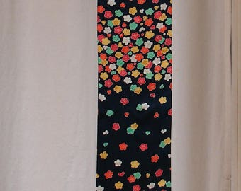 japanese silk scarf kimono