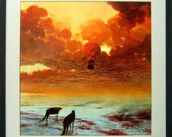 Bekskinski Art Poster Nevermore Framed Display A+ Quality