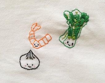 Dim Sum Embroidery