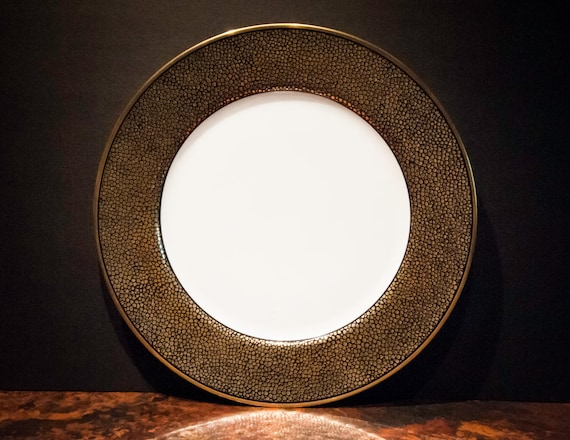 Fitz and Floyd Shagreen Charger Plate