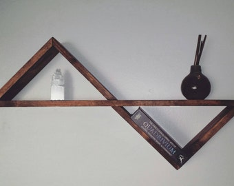 Geometric Infinity Shelf (wood)