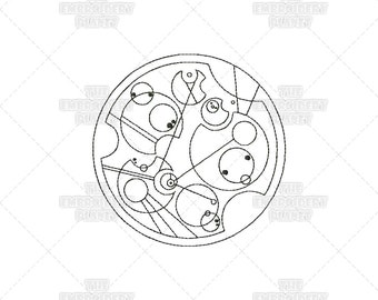 Dr Who embroidery, Dr Who's Name, In Gallifreyan, Machine Embroidery, Cosplay supplies, cosplay embroidery, cosplay ideas, nerd embroidery